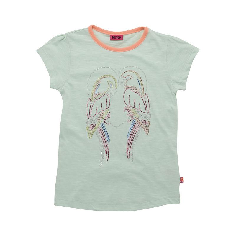 ME TOO Fola kimallepapukaijat t-paita mintunvihreä koot 104-140 ea6f111109