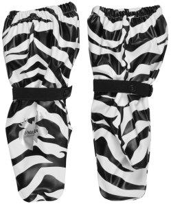 Lindberg kurahanskat fleecevuorella zebra