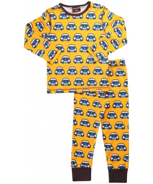 MAXOMORRA Retro Car Pyjama Set  d63f1da714