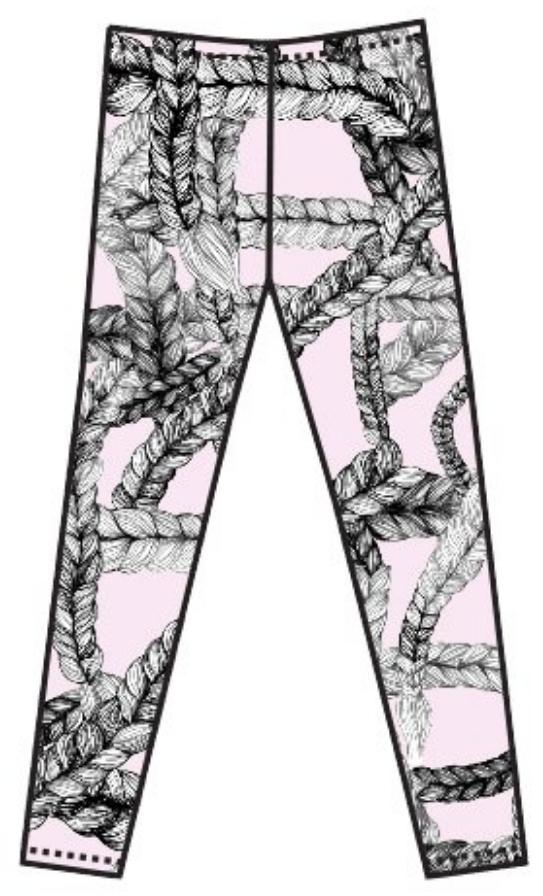 5ed3239d40332d VIMMA naisten letti leggings smoothie vaalea roosa XS ja S koot ...