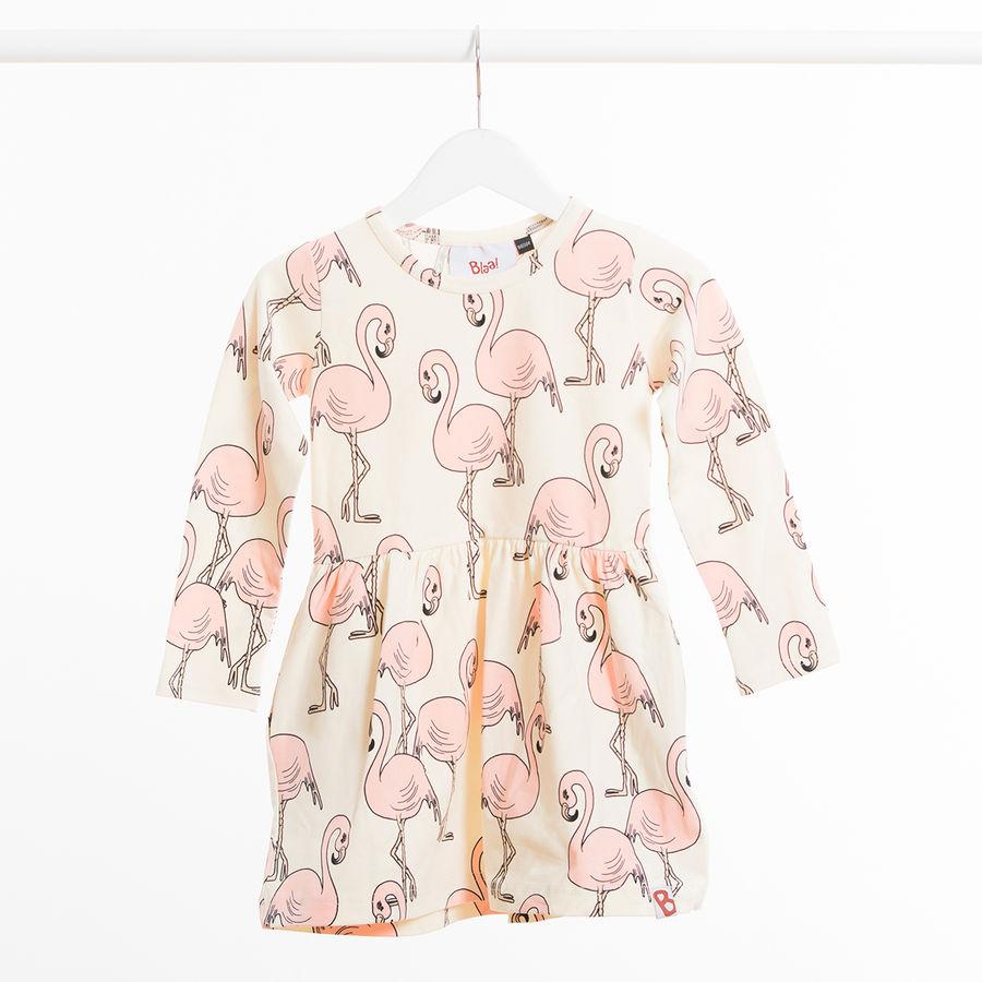 akaa dress blaa flamingo