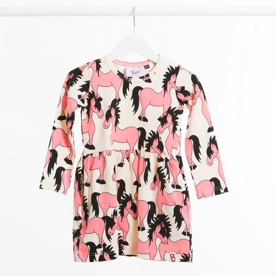 blaa akaa dress pink horses
