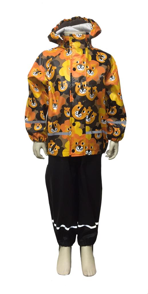 jny design kurasetti sadetakki + housut