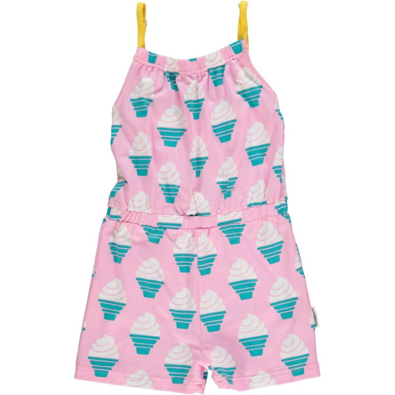 jumpsuit short maxomorra icecream
