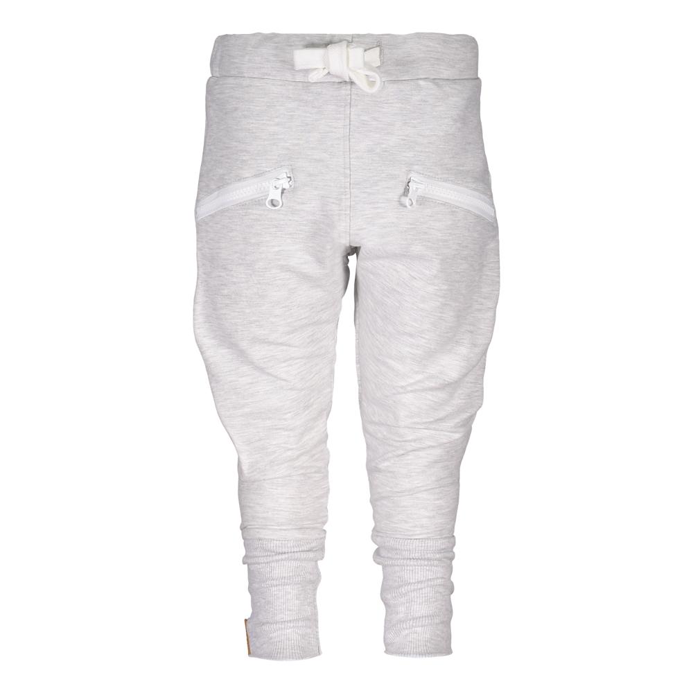 METSOLA zipper pants college housut Grey Melange acca8d136d