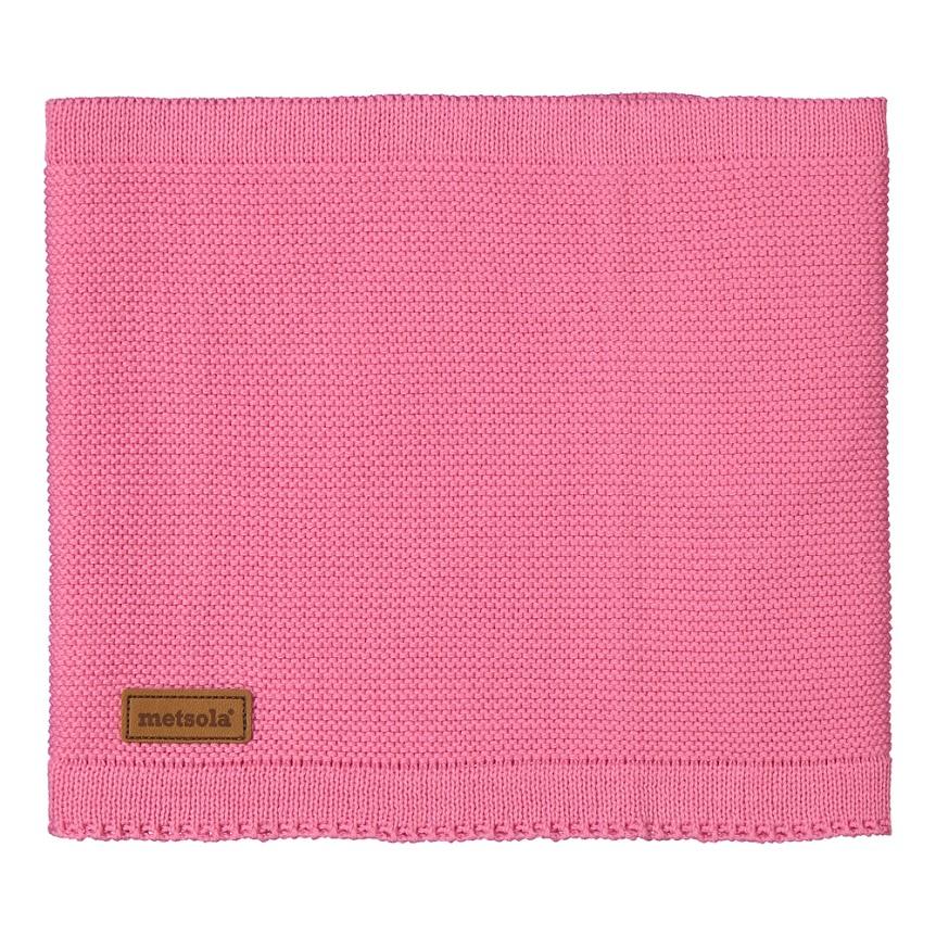 METSOLA tuubihuivi paradise pink 100% luomupuuvillaa 16d88072c7