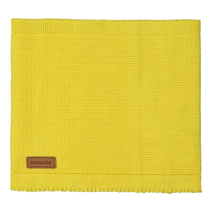 METSOLA tuubihuivi primrose yellow 100% luomupuuvillaa 8629ca5c26