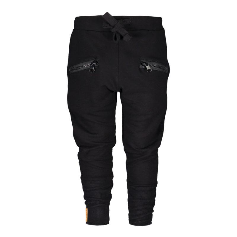 METSOLA zipper pants college housut Black koot 98-128 0823a55730