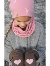 SOMA Original lasten nahkarukkaset villapolyestervuori Mud Dusty Rose MADE  IN FINLAND 30d07360c834