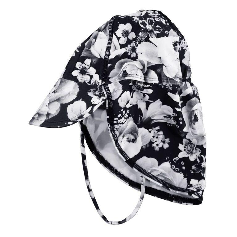 nando black floral uv-hattu molo kids lastenvaatteet