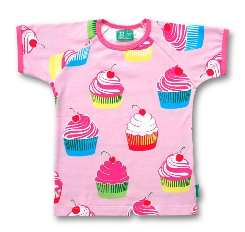 naperonuttu t-paita muffinssi