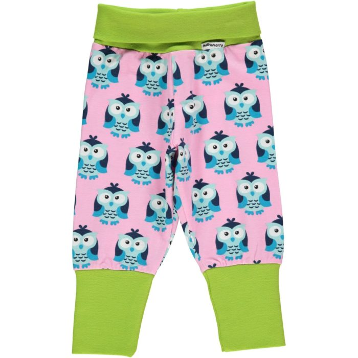pants rib owl maxomorra housut