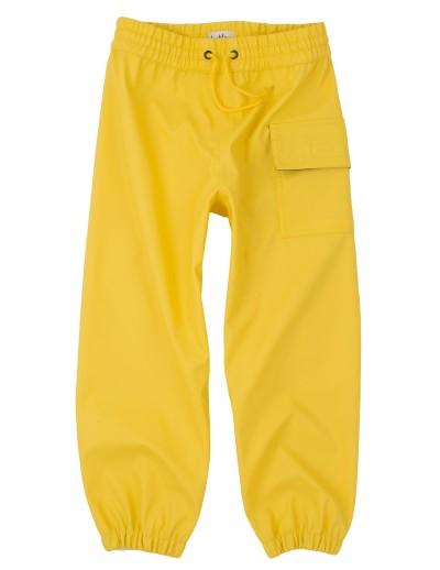sadehousut kurahousut hatley keltaiset