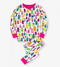 HATLEY ORGANIC pyjama yöpuku Tropical Pineapple koot 92 5ca9a6ff97