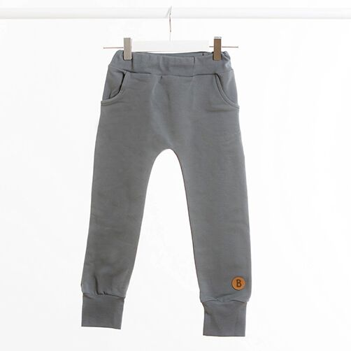 valletta dark grey baggy pants
